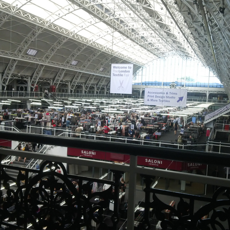 THE LONDON TEXTILE FAIR – 14.01.2015г – 15.01.2015г